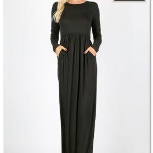 POCKET MAXI DRESSES